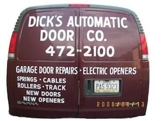 Dicks Automatic Door Company Website